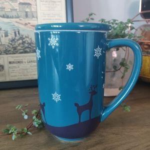 DavidsTea Colour Changing Christmas Edition Mug